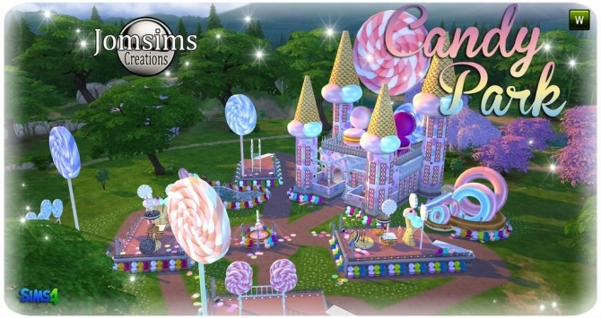 Candy park at Jomsims Creations image 5191 670x355 Sims 4 Updates