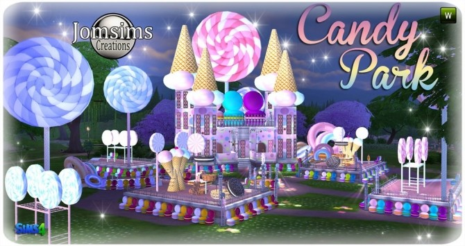 Candy park at Jomsims Creations image 520 670x355 Sims 4 Updates