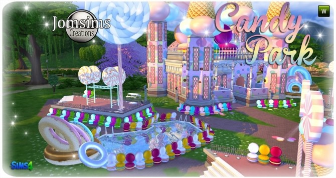 Candy park at Jomsims Creations image 5221 670x355 Sims 4 Updates