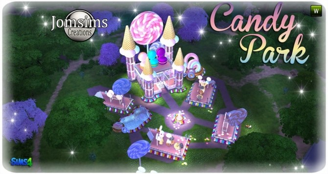 Candy park at Jomsims Creations image 5231 670x355 Sims 4 Updates