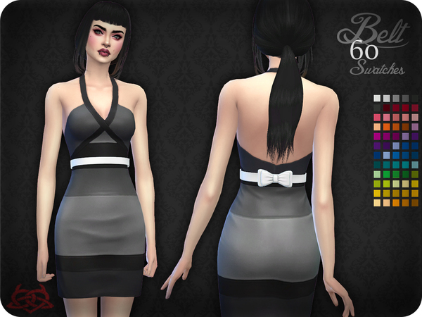 Belt 10 by Colores Urbanos at TSR image 525 Sims 4 Updates