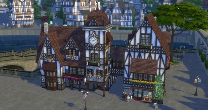Place de lHorloge: shops by Pyrénéa at Sims Artists image 529 670x355 Sims 4 Updates