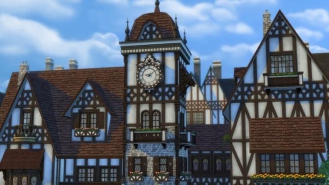 Place de lHorloge: shops by Pyrénéa at Sims Artists image 530 670x377 Sims 4 Updates