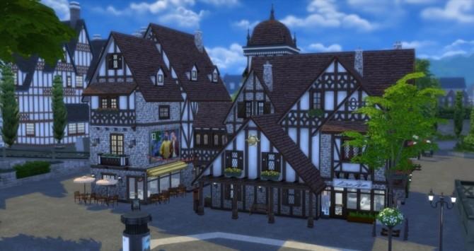 Place de lHorloge: shops by Pyrénéa at Sims Artists image 5321 670x355 Sims 4 Updates