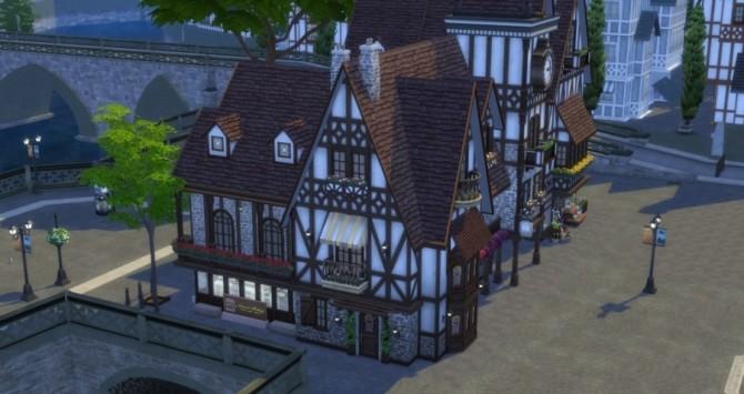 Place de lHorloge: shops by Pyrénéa at Sims Artists image 5331 670x355 Sims 4 Updates