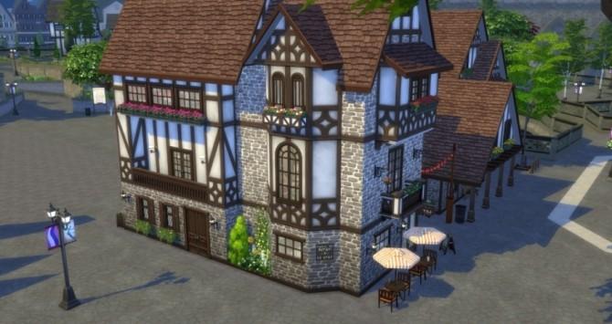 Place de lHorloge: shops by Pyrénéa at Sims Artists image 5341 670x355 Sims 4 Updates