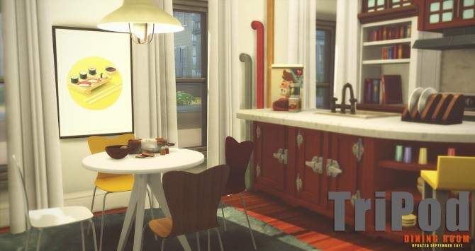 TriPod Dining Set at Onyx Sims image 5411 670x355 Sims 4 Updates