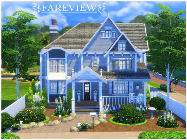 Fareview house by Waterwoman at Akisima image 546 Sims 4 Updates