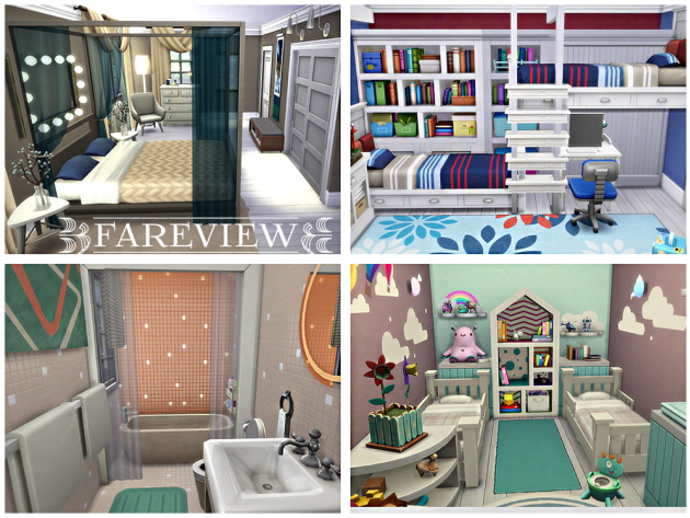 Fareview house by Waterwoman at Akisima image 547 Sims 4 Updates