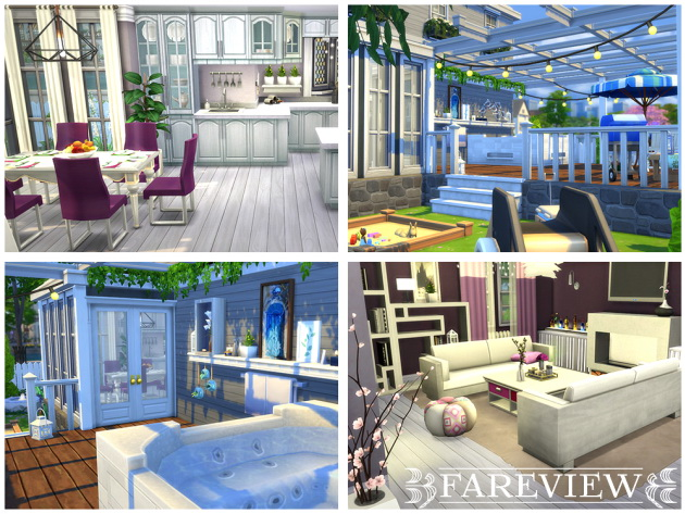 Fareview house by Waterwoman at Akisima image 548 Sims 4 Updates
