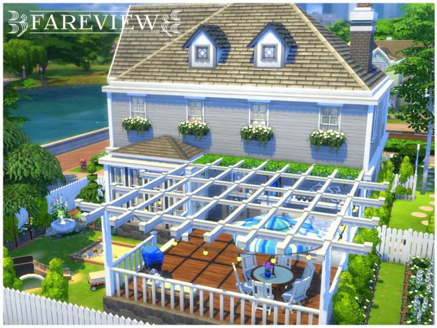 Fareview house by Waterwoman at Akisima image 549 Sims 4 Updates