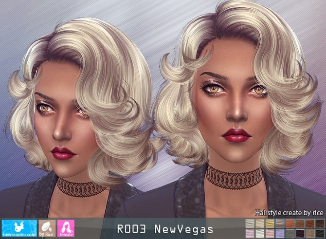 R003 NewVegas hair (Pay) at Newsea Sims 4 image 5511 670x491 Sims 4 Updates