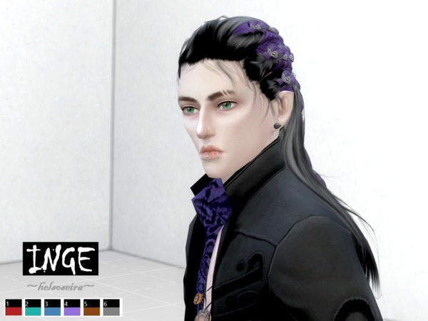 Sims 4 INGE WINGS OS0814 Retextured by Helsoseira at TSR