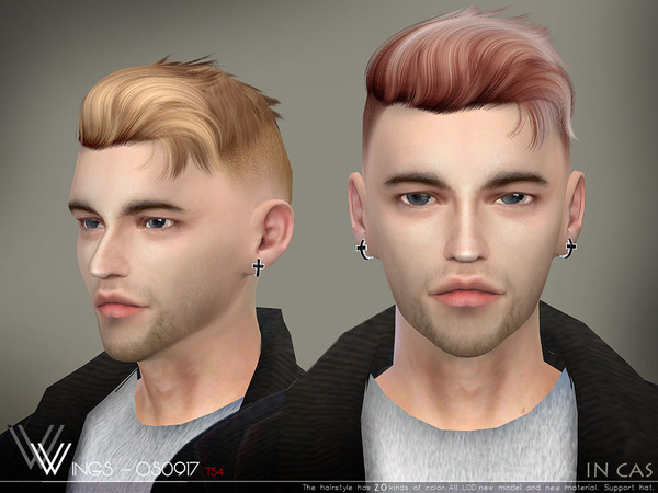 Sims 4 Hair OS0917 by wingssims at TSR