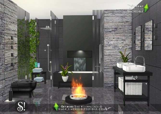 Verat luxury bathroom at SIMcredible! Designs 4 image 5631 670x474 Sims 4 Updates