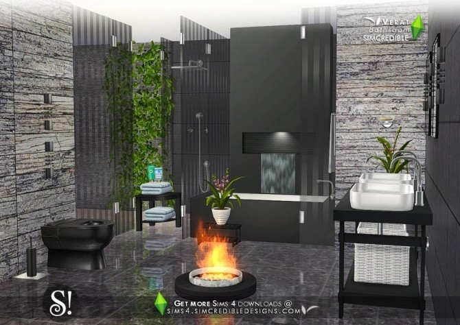 Verat luxury bathroom at SIMcredible! Designs 4 image 567 670x474 Sims 4 Updates