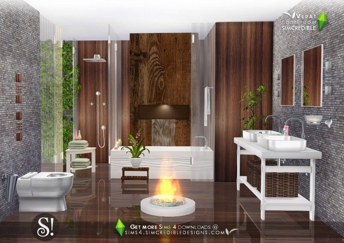 Verat luxury bathroom at SIMcredible! Designs 4 image 568 670x474 Sims 4 Updates
