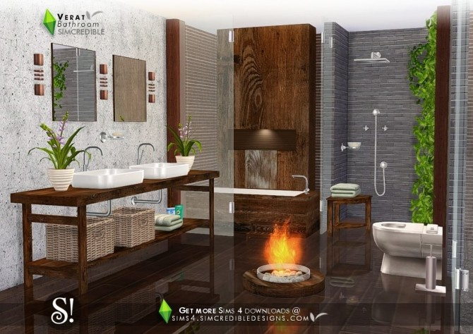 Verat luxury bathroom at SIMcredible! Designs 4 image 569 670x474 Sims 4 Updates
