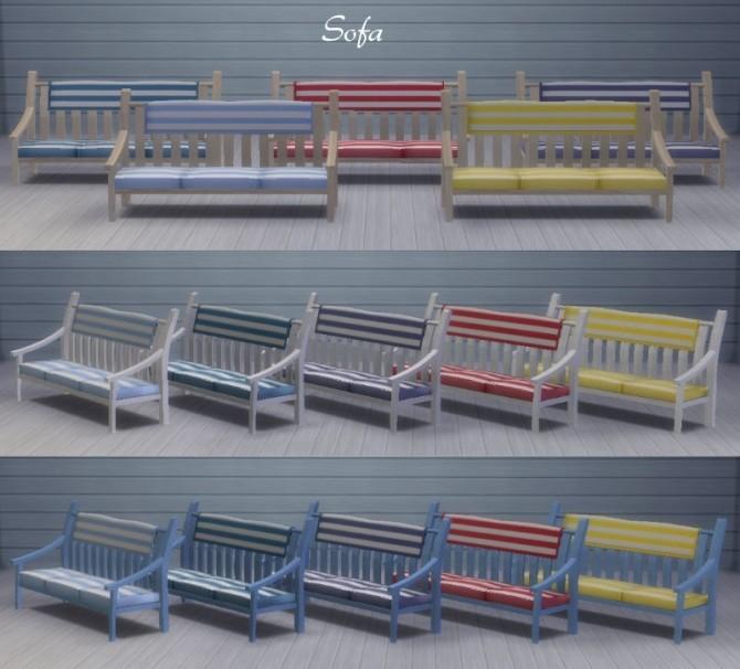 Inspiration marine Salon by Maman Gateau at Sims Artists image 601 670x606 Sims 4 Updates