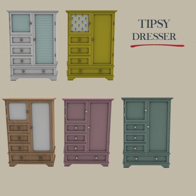 Tipsy Dresser at Leo Sims image 6015 670x670 Sims 4 Updates