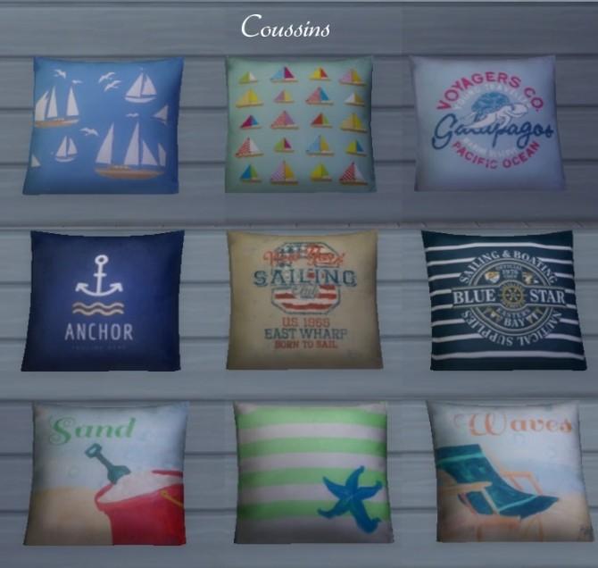 Inspiration marine Salon by Maman Gateau at Sims Artists image 611 670x636 Sims 4 Updates