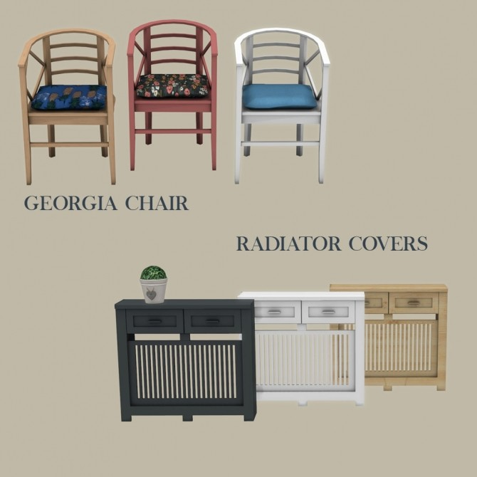 Georgia Chair & Radiator Cover at Leo Sims image 6215 670x670 Sims 4 Updates
