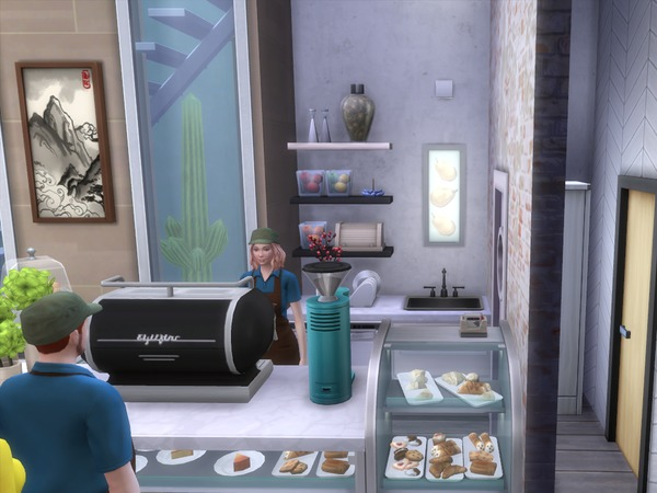 Neso Coffee Shop by cristianaaf4 at TSR image 622 Sims 4 Updates