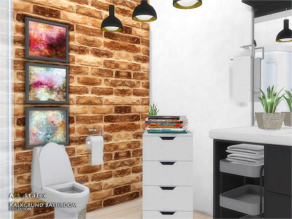 Kalkgrund Bathroom by ArtVitalex at TSR image 626 Sims 4 Updates