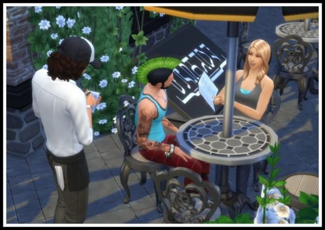 Sims 4 No Restaurant Bill when being Invited at LittleMsSam