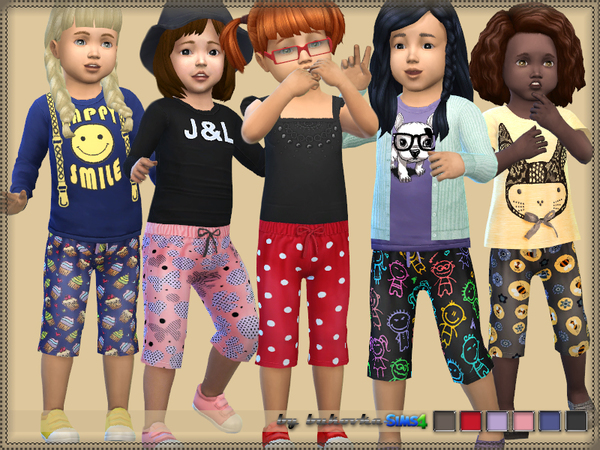 Extended shorts for girls by bukovka at TSR image 640 Sims 4 Updates