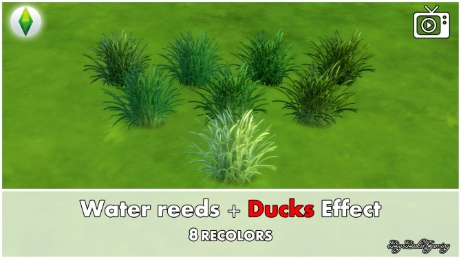 Water reeds + Ducks effect by Bakie at Mod The Sims image 6511 670x377 Sims 4 Updates