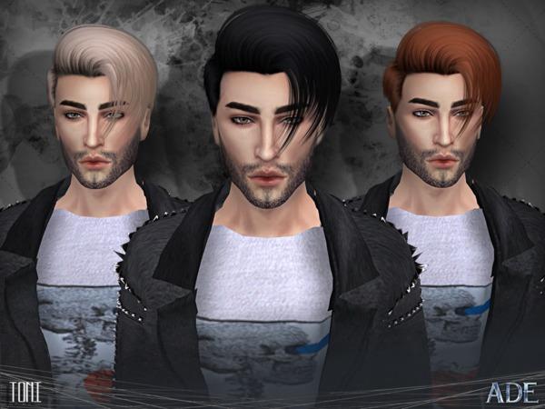 Sims 4 Toni hair by Ade Darma at TSR