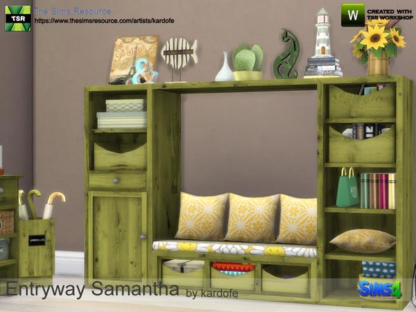 Sims 4 Entryway Samantha by kardofe at TSR