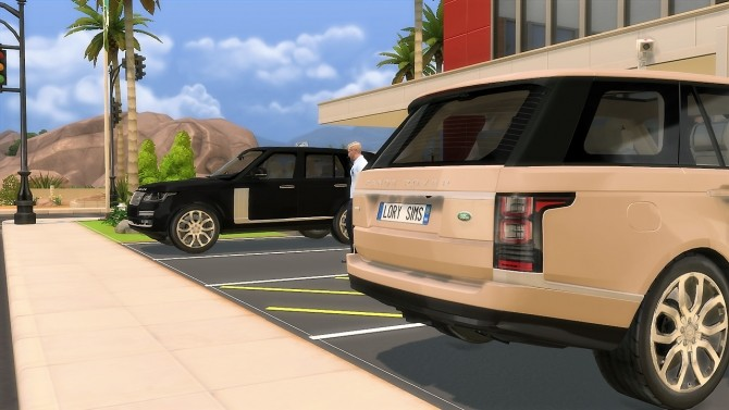 Sims 4 Range Rover Supercharged at LorySims