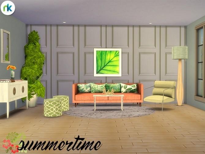 Summertime Living Room at Nikadema Designs image 6915 670x503 Sims 4 Updates