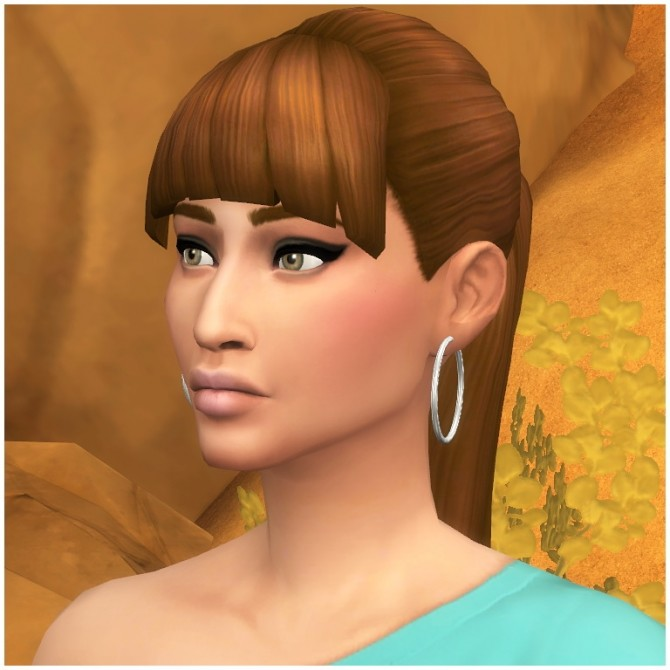 Sims 4 Alessandra Rodriguez by Hellfrozeover at Mod The Sims