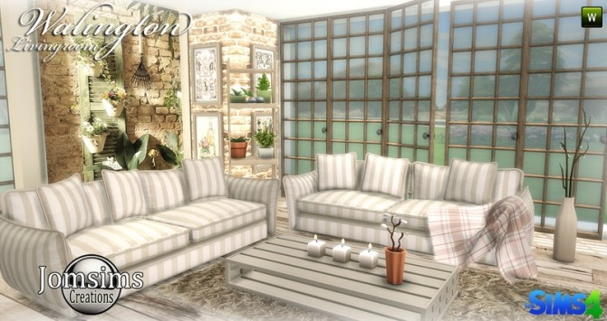 Walington Living room at Jomsims Creations image 7113 670x355 Sims 4 Updates