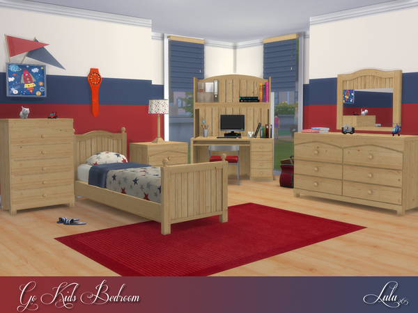 Go Kids Bedroom by Lulu265 at TSR image 714 Sims 4 Updates