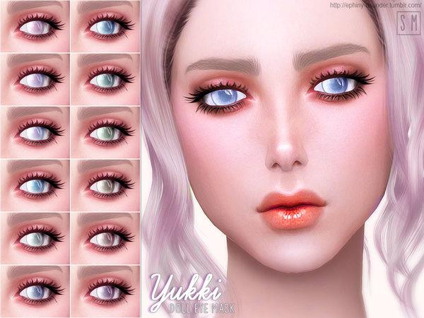 Yukki Doll Eye Mask by Screaming Mustard at TSR image 720 Sims 4 Updates