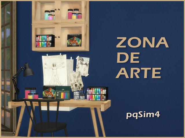 Art Zone at pqSims4 image 721 Sims 4 Updates