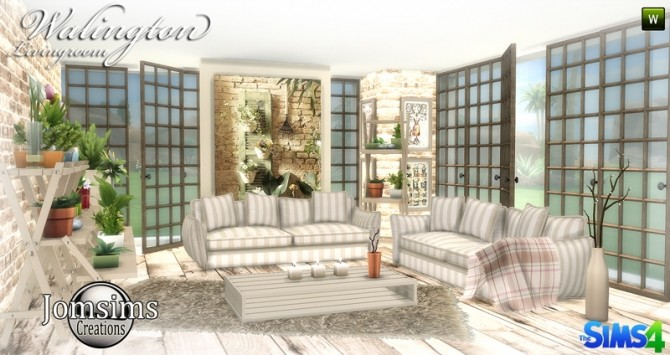 Walington Living room at Jomsims Creations image 7210 670x355 Sims 4 Updates