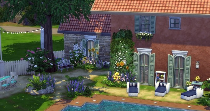 Sims 4 Mistral house at Studio Sims Creation