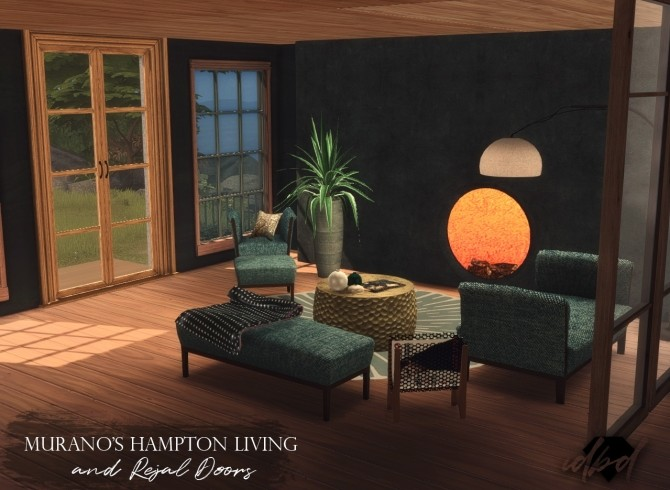 3T4 Murano Hamptons Chaiselounges and Ottomans + Rejal Doors at Daer0n – Sims 4 Designs image 731 670x490 Sims 4 Updates
