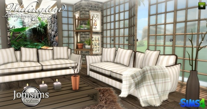Walington Living room at Jomsims Creations image 738 670x355 Sims 4 Updates