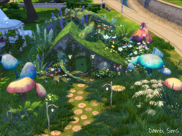 Cosmetic Fairy Shop by dambisims at TSR image 745 Sims 4 Updates