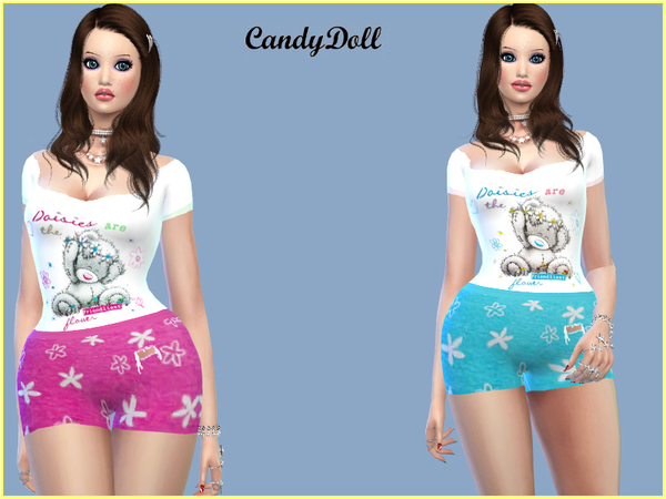 Sims 4 Me To You Set by CandyDolluk at TSR