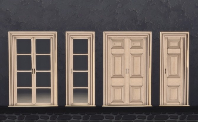 3T4 Murano Hamptons Chaiselounges and Ottomans + Rejal Doors at Daer0n – Sims 4 Designs image 761 670x413 Sims 4 Updates