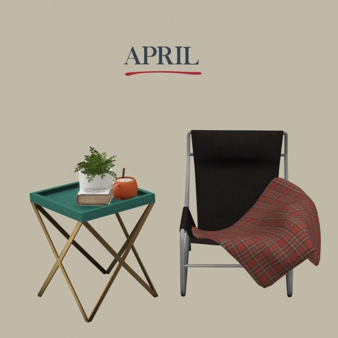 April set at Leo Sims image 7610 670x670 Sims 4 Updates