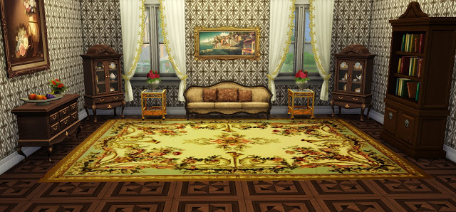 Vintage Rugs 02 at Ladesire image 766 Sims 4 Updates