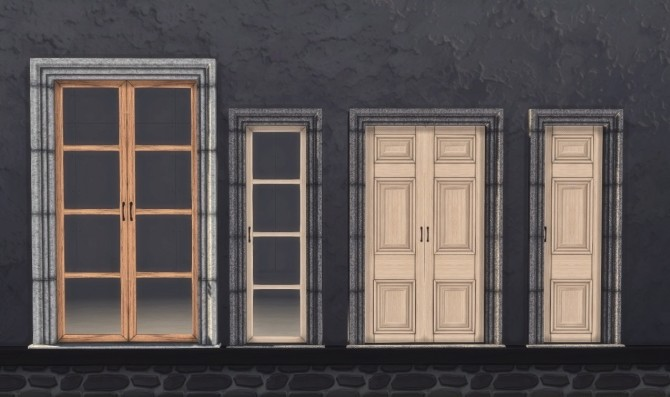 3T4 Murano Hamptons Chaiselounges and Ottomans + Rejal Doors at Daer0n – Sims 4 Designs image 771 670x397 Sims 4 Updates